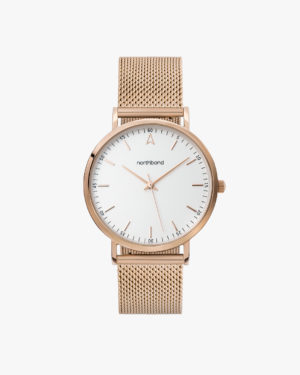 lace watch mesh rose gold 36mm