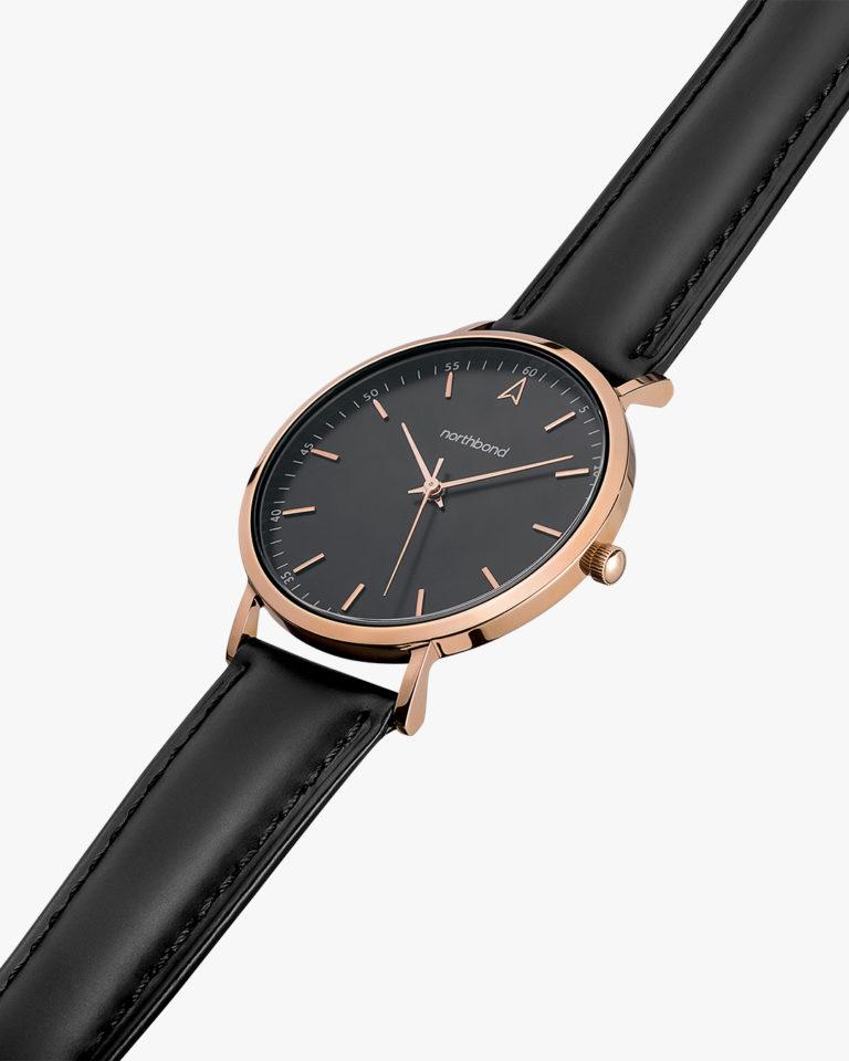 noir watch rose gold