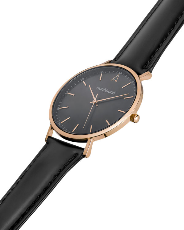 onyx watch rose gold