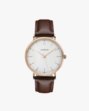 coral watch brown rose gold 36mm